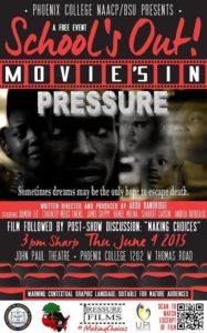 PRESSURE FILM SHOWING