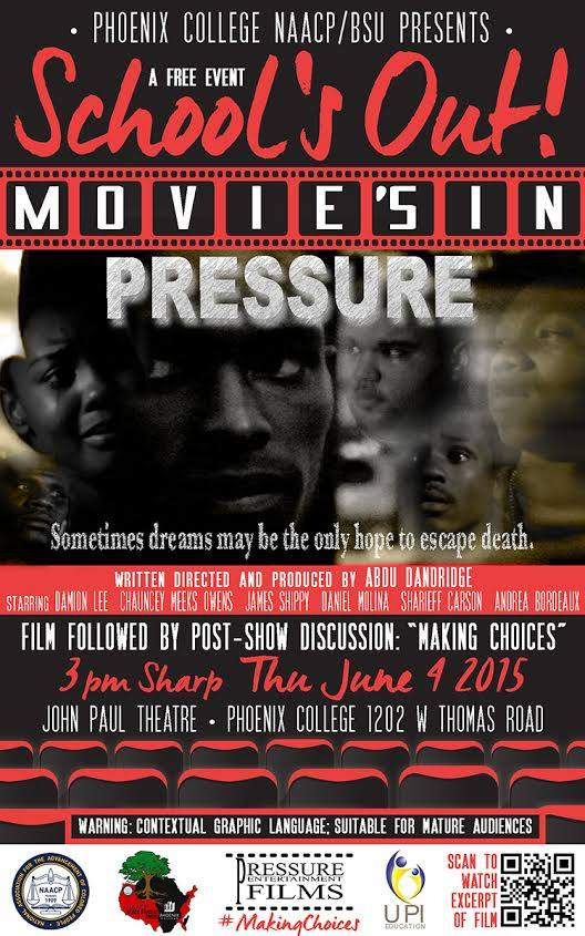 PRESSURE FILM SHOWING