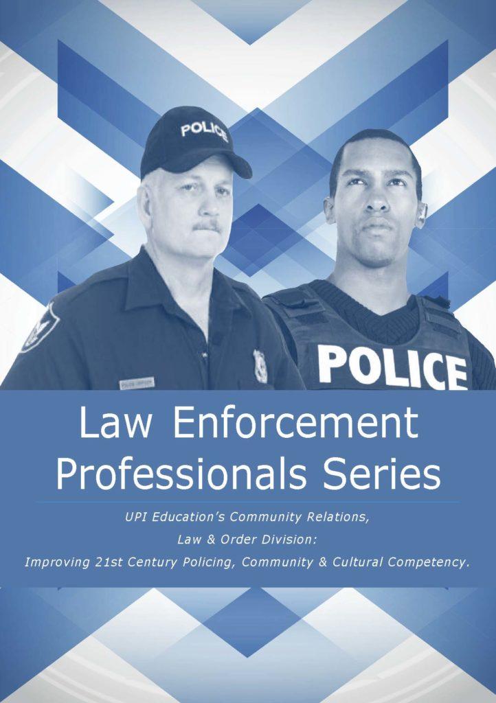 Community Relations, Law Enforce Div Brochure