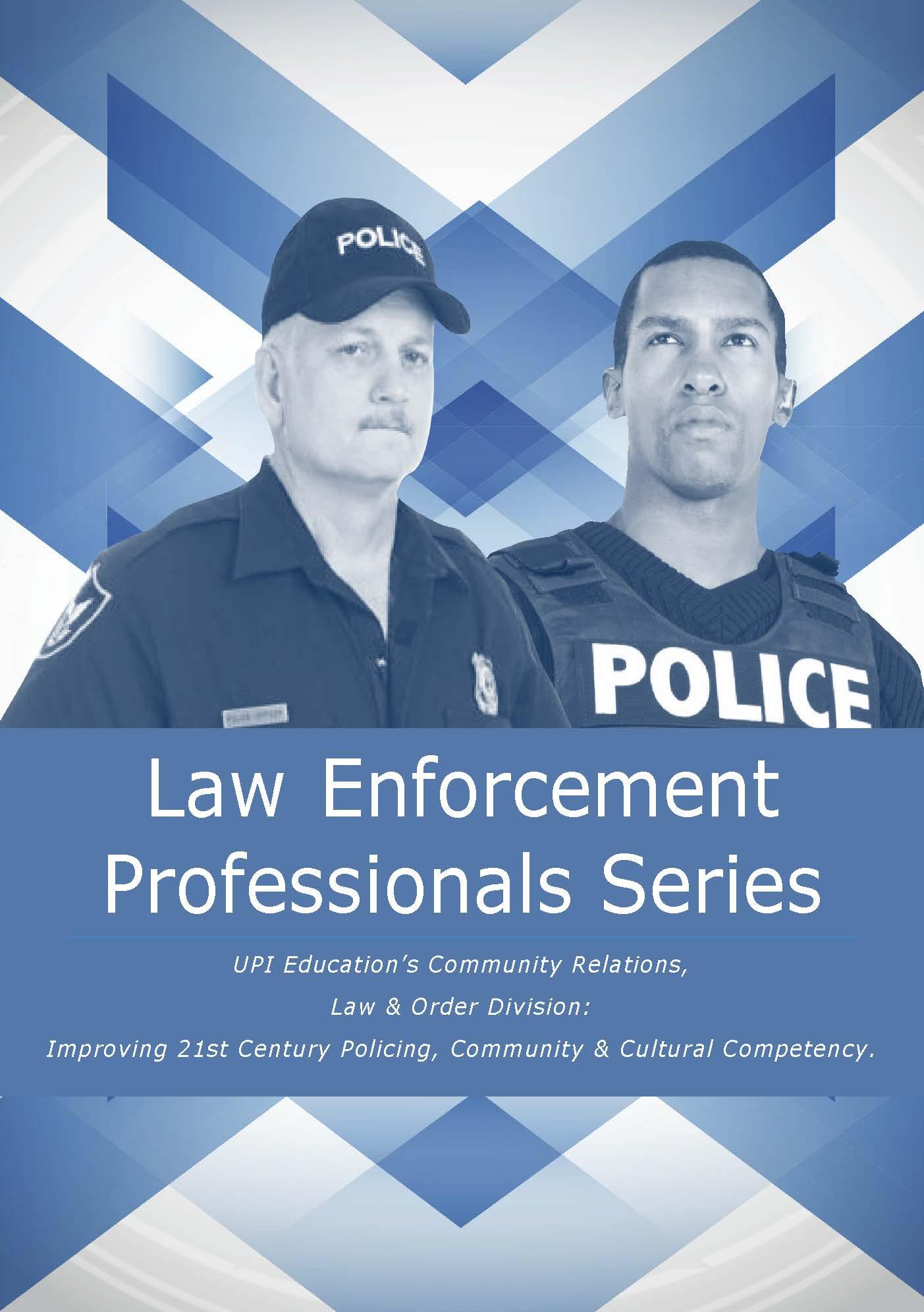 Community Relations, Law Enforce Division Brochure