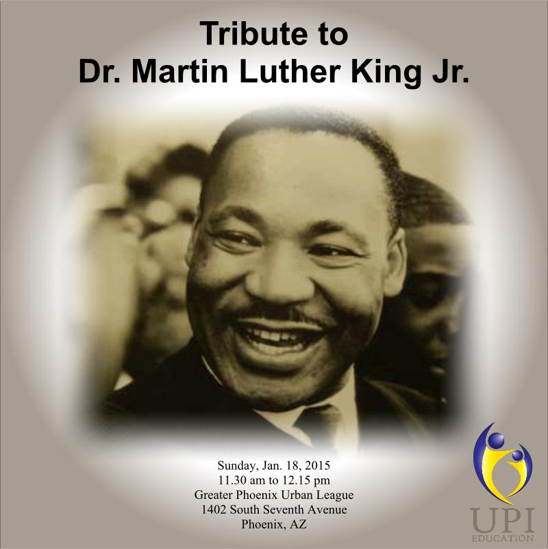 MLK 2015 Tribute - UPI Education