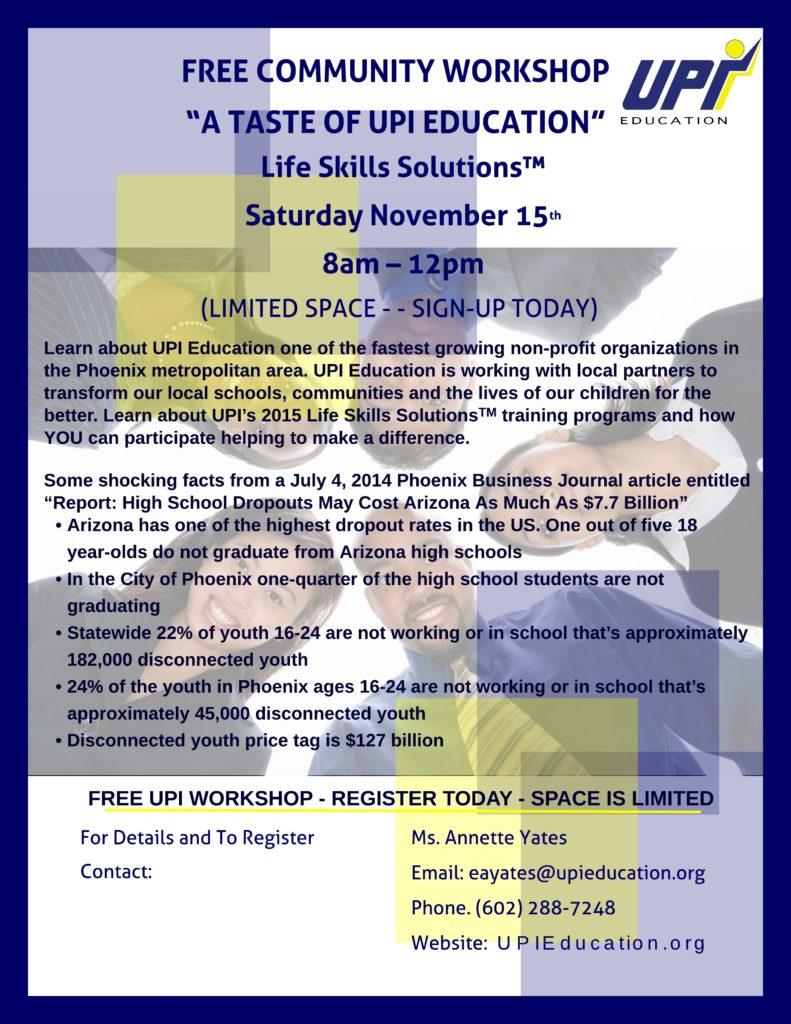 UPI Leadership Team Flyer - Flyer